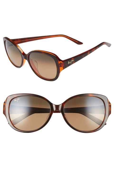 Maui Away Jim Sunglassesaffiliate Swept 56mm Polarizedplus2®️ DIeHYb92EW