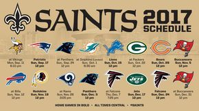 The #Saints open the season on Monday Night Football! WHODAT!!