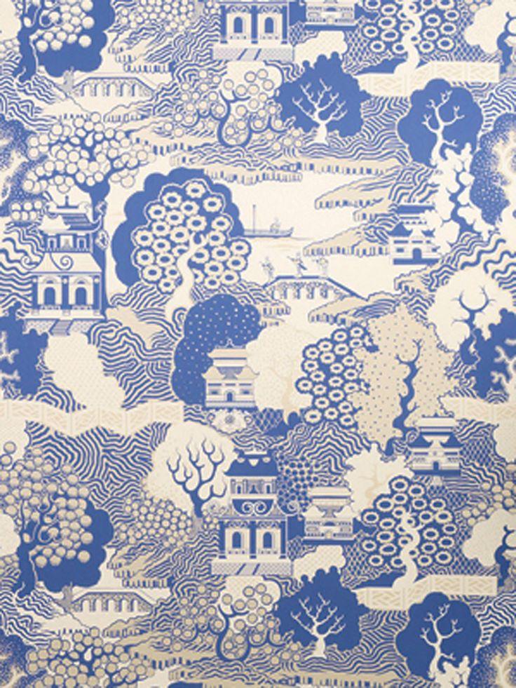 Summer Palace Wallpaper | Wallpaper Album 5 Wallpapers | Osborne & Little Wallpapers