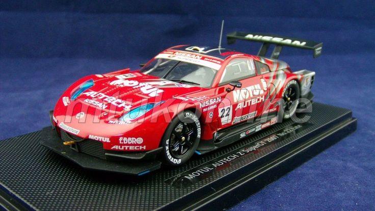 EBBRO 2007 | NISSAN MOTUL AUTECH 350Z #22 | 1/43 | SUPER GT 2007 GT500 NISMO