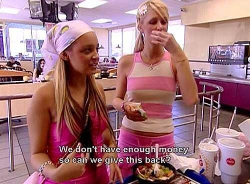 Ridiculous sh!t Paris Hilton and Nicole Richie said on The Simple Life (19 photos)