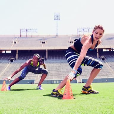 No excuses! This bootcamp workout is designed for your backyard so you can do it at home, in the park, at a nearby school, anywhere with a little grass!