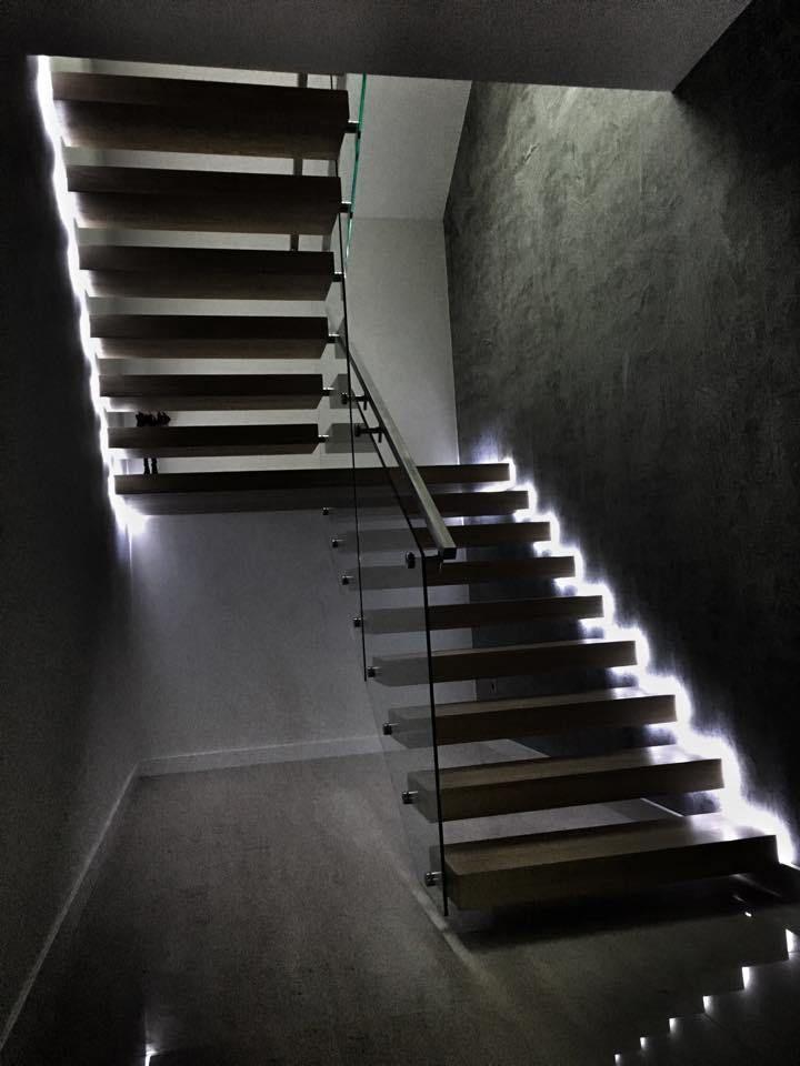87 besten home led lighting ideas bilder auf pinterest treppen beleuchtung und innenbeleuchtung. Black Bedroom Furniture Sets. Home Design Ideas