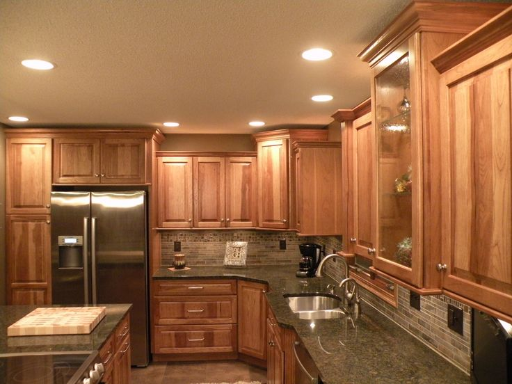 Kraftmaid Hickory Kitchen Cabinets Kitchen Kitchen