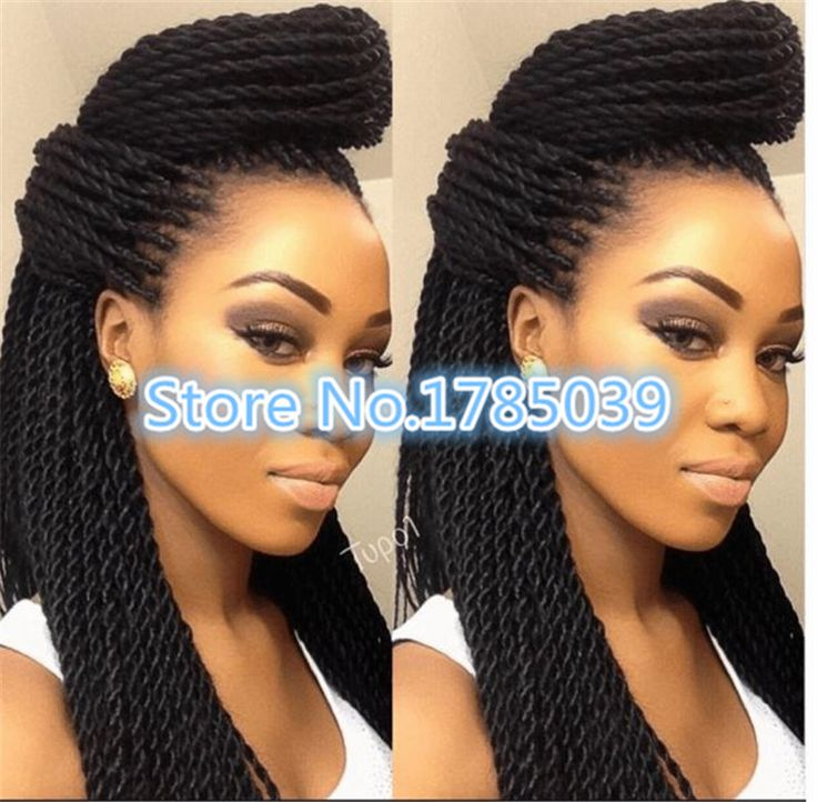 mambo twist crochet braids hair senegalese twist synthetic box braid ...