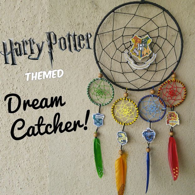 Harry Potter Themed Dream-Catcher!!!