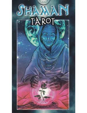 Shaman tarot deck Explore the four paths of the modern Shaman with this beautifully illustrated tarot deck, which takes each of the traditional cards of the Arcana and imbues it with a rich, wild splendor born of shamanic imagery. Explore dance, travel, healing and combat, wondering the paths as you seek the way to achieving full awareness within these cards intended to aid you in traveling throughout the worlds.