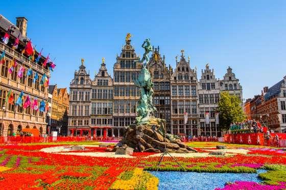 Antuérpia (Bélgica) - Localizada a 40 minutos de carro ao Norte de Bruxelas