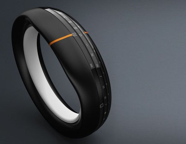 » Concept Wristwatch – bracelet Round-The-Clock Future technology