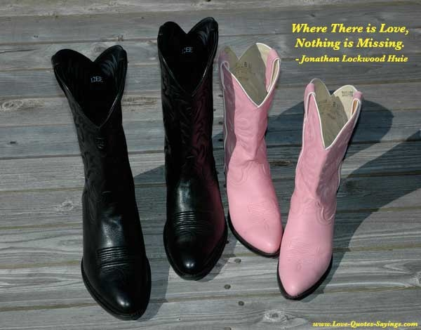 Where There is Love, Nothing is Missing.  - Jonathan Lockwood Huie
