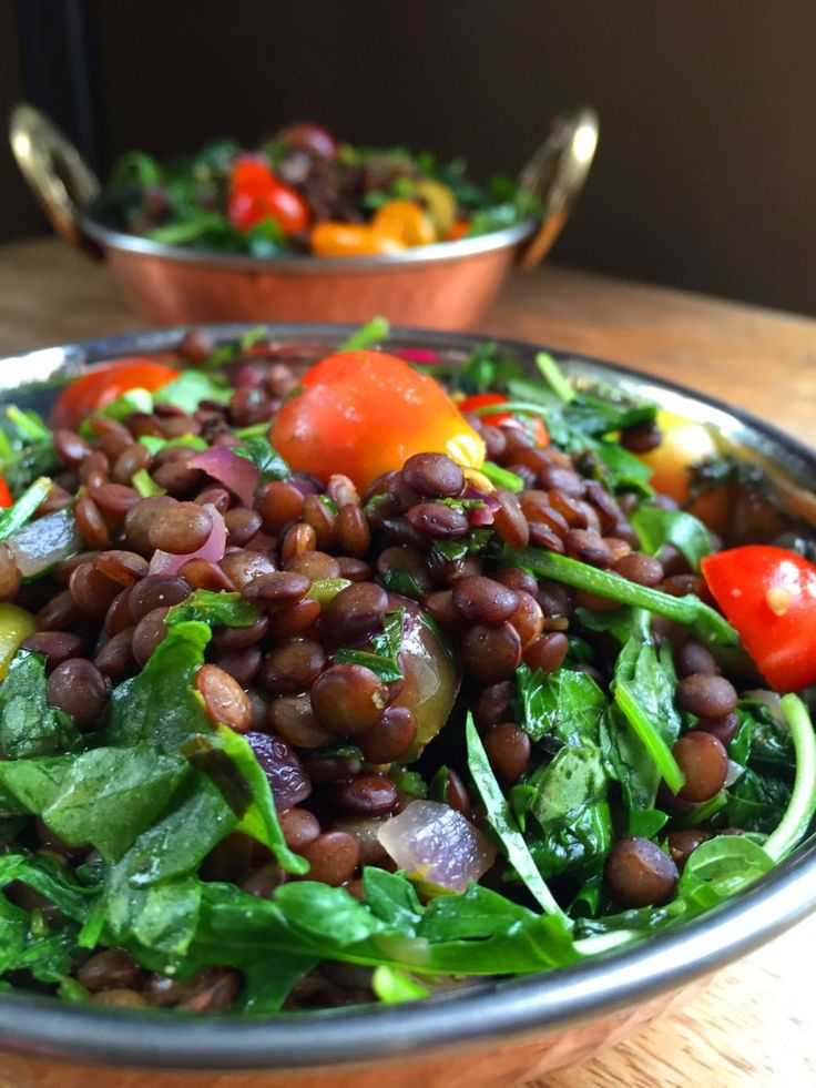 Vegan Herbed French Lentil Salad