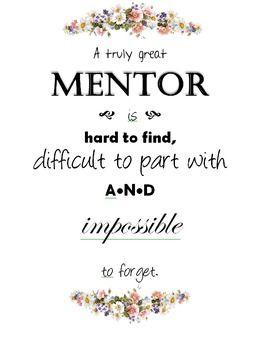 Mentor Teacher Appreciation Poster                                                                                                                                                                                 More