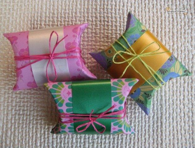 Ideas para reciclar: Cajitas para tus regalos