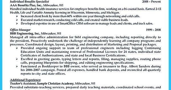 Impressive Professional Administrative Coordinator Resume Vina - benefits assistant sample resume