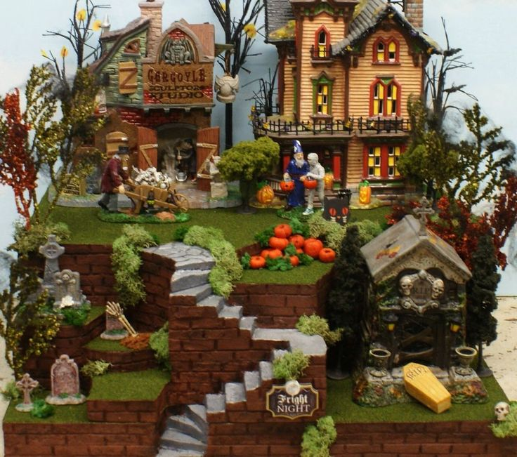 Department 56 Halloween Houses