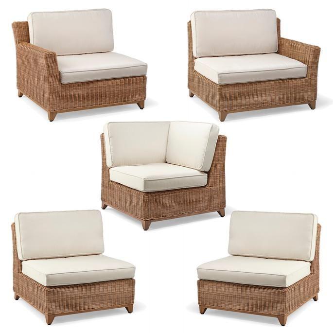 Somerset Modular Seating Outdoor Furniture Sets Furniture