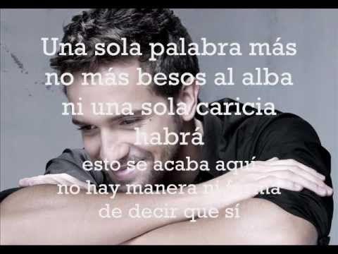 Perdóname- P.Alborán y Carminho Letra/Lyrics