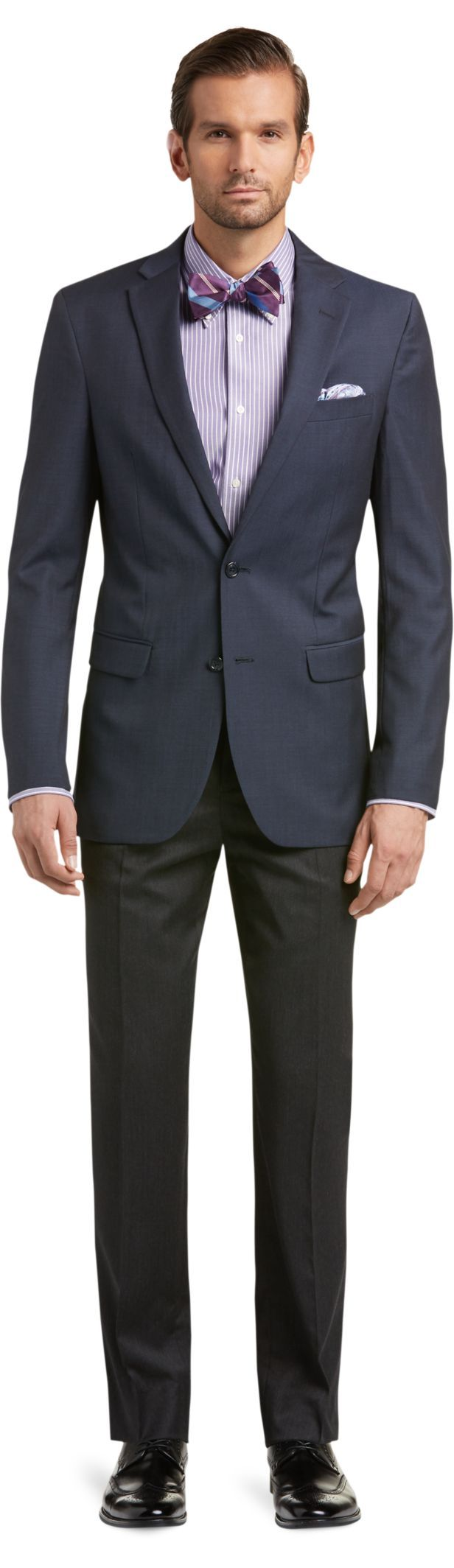 Classic Collection Slim Fit Suit Separates Coat -Big & Tall