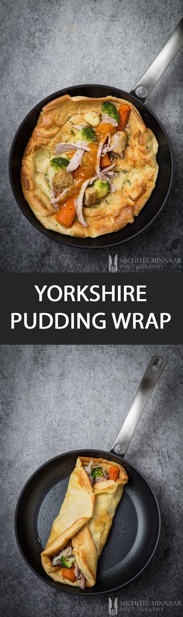 Yorkshire Pudding Wrap - {NEW RECIPE} Yorkshire Pudding Wrap is the latest craze right now. Learn how to make this easy recipe with a Circulon UK pan.