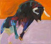 Bull III. Lise Malinovsky. Danish painter