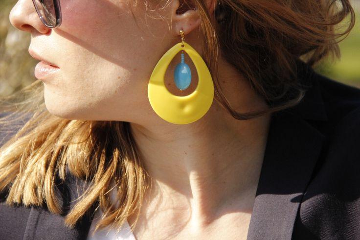 Swedish retro earring