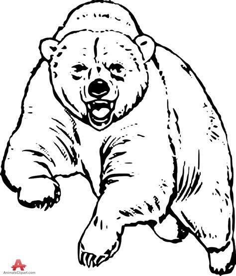 Grizzly bear free drawing patterns to trace in 2019   Bear ...