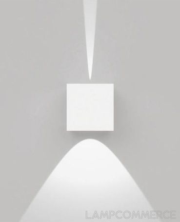 Artemide Outdoor Effetto square wall lamp Lights & Lamps - LampCommerce