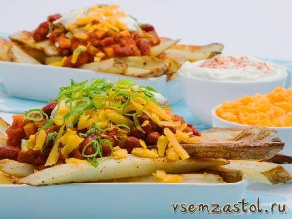Чили с картошкой и сыром