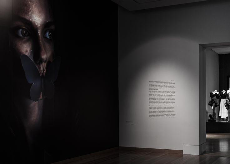 Maticevski: Dark Wonderland Bendigo Art Gallery | tonimaticevski.com