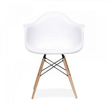 Charles E Eames Style DAW Stuhl Weiß - Charles E von Cult Furniture UK
