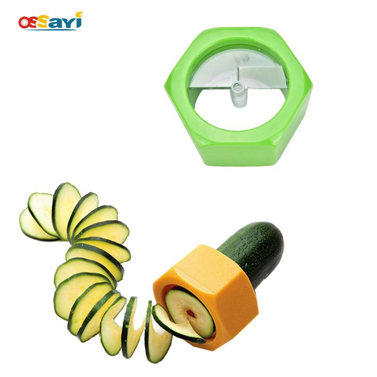 1pc Cucumber Cutter Slicer Fruit Carving Tools Cucumber Slicer/Cucumber Slices Tools/Cucumber Facial Mask Cutter Kitchen Gadgets
