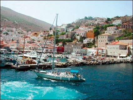 Ydra island , Greece .