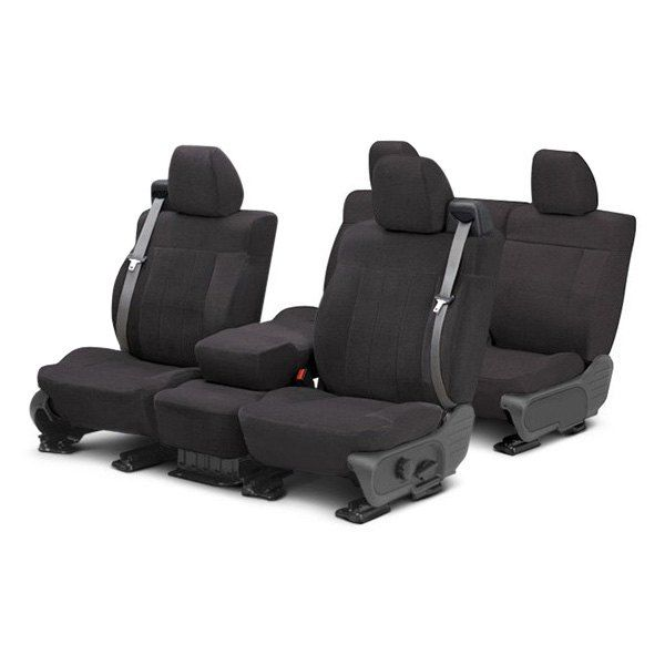 Image may not reflect your exact vehicle! CalTrend® - O.E. Velour Custom Seat Covers 188