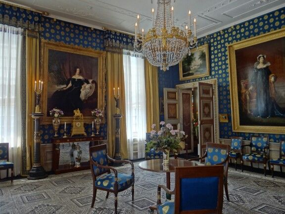 Palace Het Loo, The Netherlands, interior.