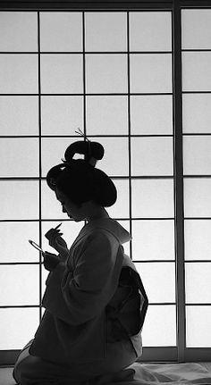 Geisha - Photo by Ryushi Kojima, Japan. °