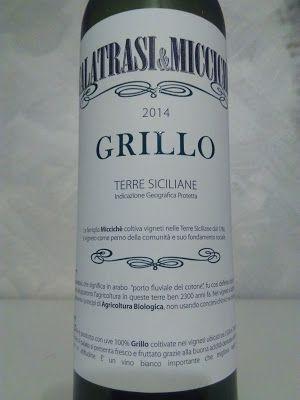 VINI AL SUPERMERCATO: Grillo Terre Siciliane Igp biologico 2014, cantina...