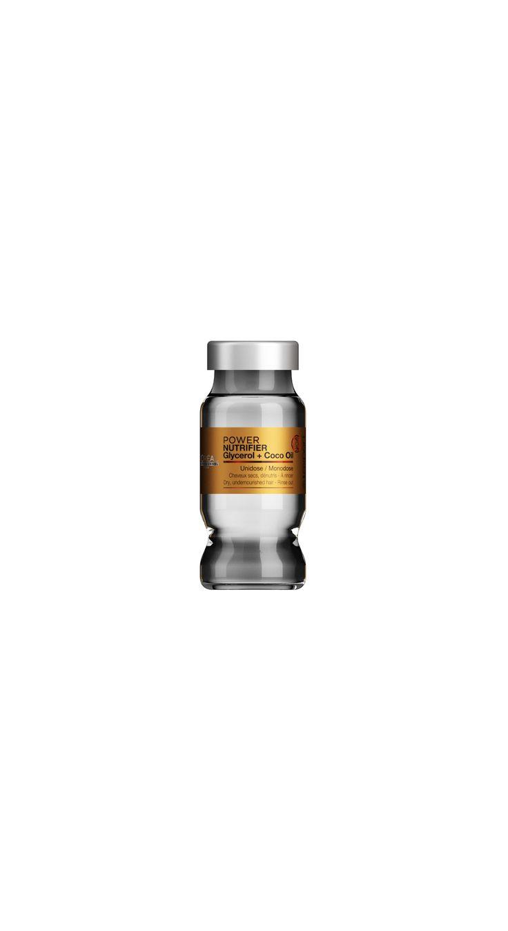 L'Oréal Professionnel Paris Série Expert Power Nutrifier Glycerol + Coco Oil Monodose 10ml.