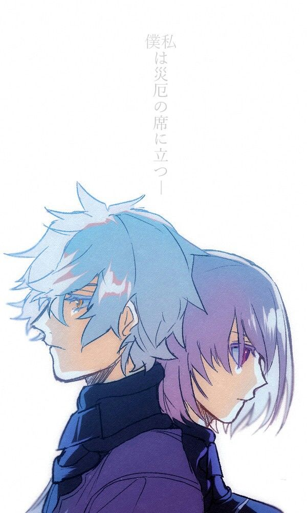 Fate Grand Order Galahad And Mash Kyrielight One Punch Anime
