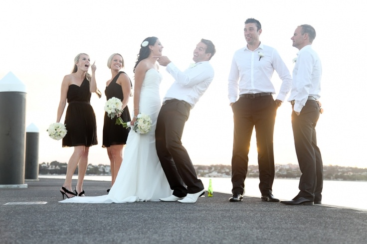 Nichola & Brad just got to have fun during your photos » Blush Wedding Photography .co.nz