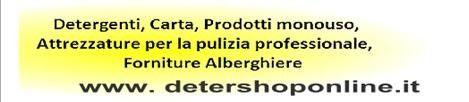 Detershoponline - Prodotti professionali per la pulizia civile ed industriale - Acquista OnLine. -  - Prodotti professionali per la pulizia e l'igiene civile ed industriale. Acquista OnLine.