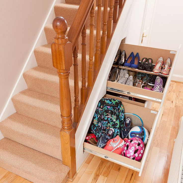 1000+ Ideas About Under Stairs Storage Solutions On