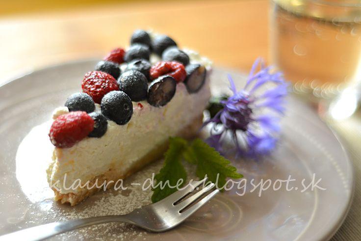 Z mojej kuchyne i fotoaparátu ...: Nepečená letná ovocná torta