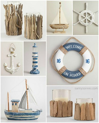 Beach Wedding Decor By Krystalskitsch Via Flickr Nautical Ideasnautical Bathroom