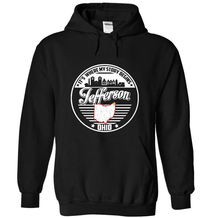 Jefferson, Ohio - Its Where My Story Begins - Special Tees 2015