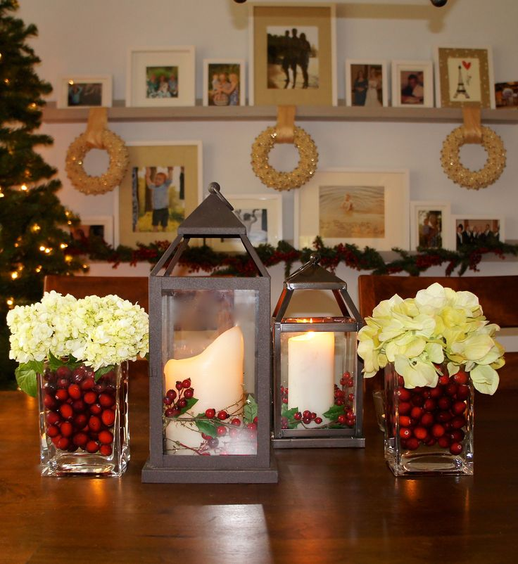 Christmas centerpiece easy fast and wallet friendly