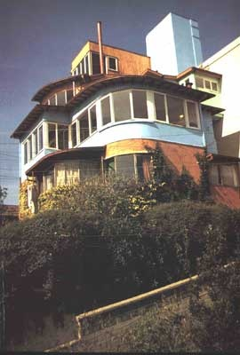 La Sebastiana, casa de Pablo Neruda en Valparaiso, Chile