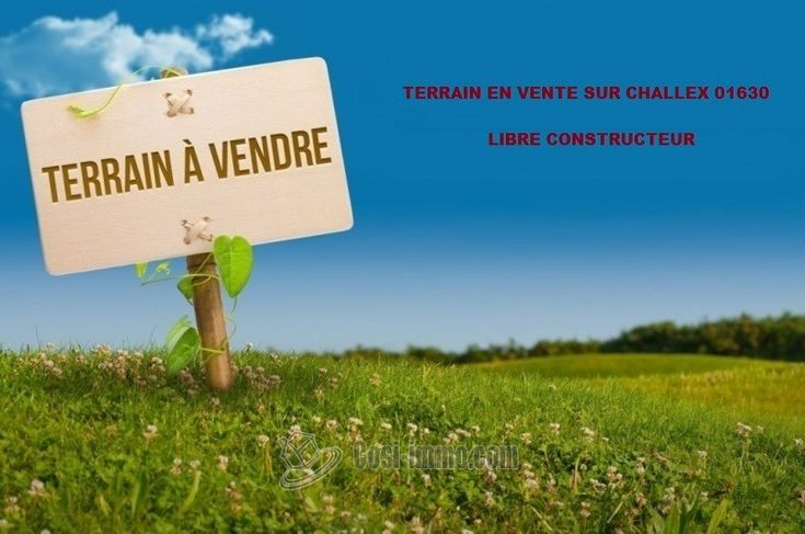 Ref. CI-1658 - VENTE TERRAIN A BATIR A CHALLEX 01630