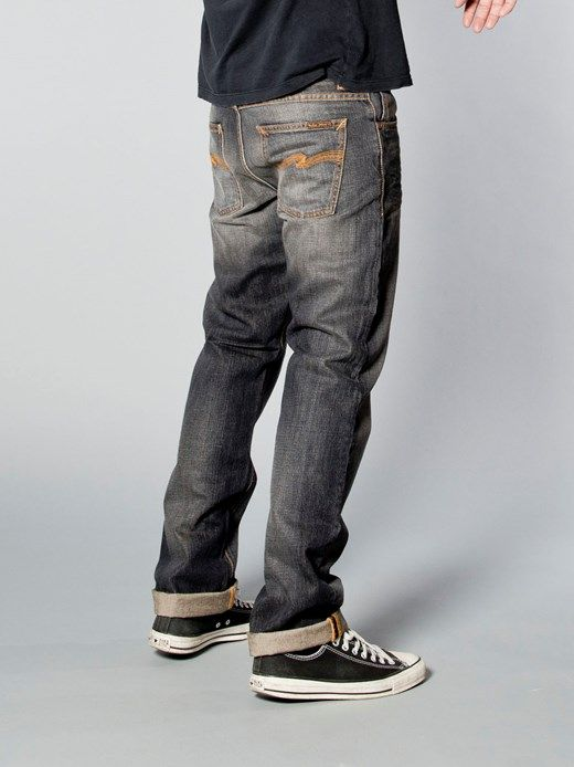 Straight Alf Organic Sandy Grey - Nudie Jeans Co Online Shop