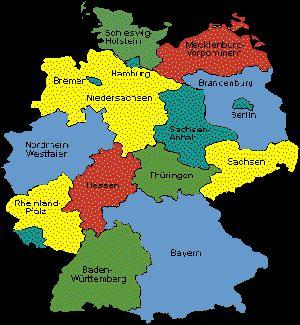 Bilder zu 16 Bundesländer mit Hauptstädten