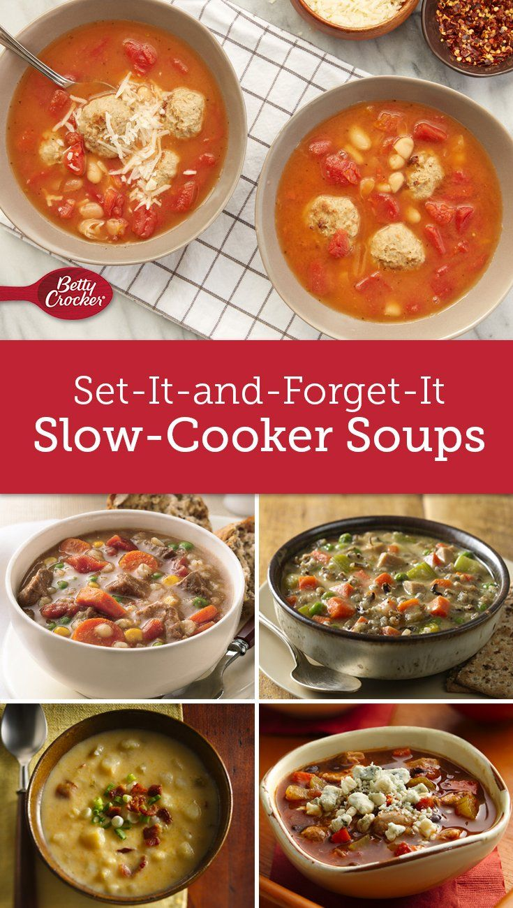 During this busy season, fussing over dinner should be last on your list. That's why we love these soothing soups made courtesy of your slow cooker.